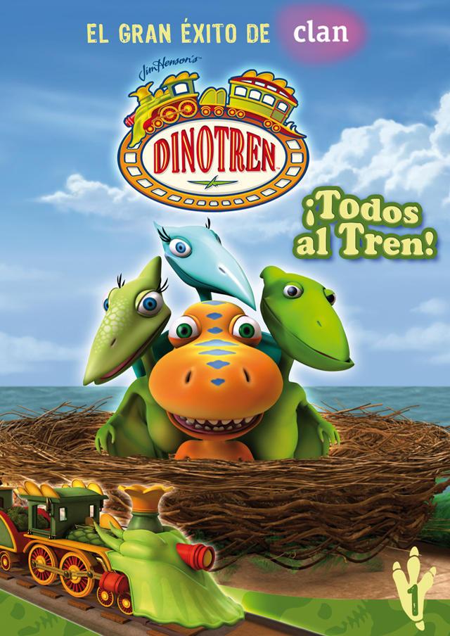 Dinotren es ya uno de los grandes éxitos de Clan. Foto: Selecta Visión.