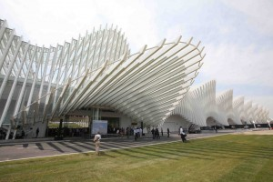 La estación de Reggio Emilia AV finalmente se inauguró en 2013. Foto: Comune di Reggio Nell'Emilia.