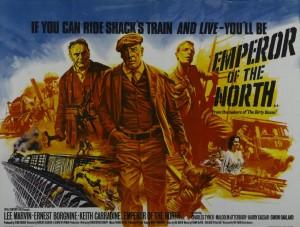 Esta semana en ¡Cinéfilos al tren! te traemos una película ferroviaria de lo más interesante: El emperador del norte, dirigida por Robert Aldrich (Doce del patíbulo) en el año 1973.