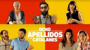 Uno de los carteles oficiales de 8 apellidos catalanes. Foto: Vanitatis.
