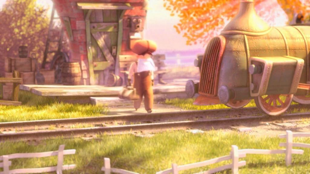 Maruxiña, mi amor: corto ferroviario para todas las edades