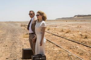 En la última película de James Bond también hay sitio para el tren. Foto: Wtop.