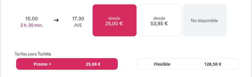 Billete de AVE Madrid-Barcelona para viajar por solo 25€ el 7 de junio